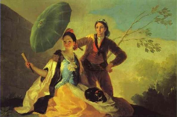המטריה – שמן על קנווס 104 x 152 cm , 1777