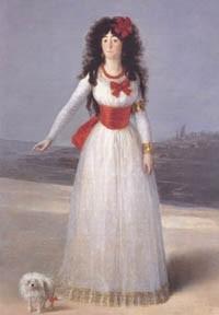 הדוכסית מאלבה – שמן על קנווס 194 x 130 cm , 1795