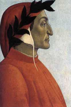 דנטה אליגיירי מאת בוטיצ'ילי