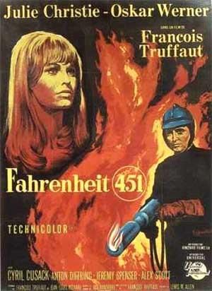 כרזת הסרט פרנהייט 451