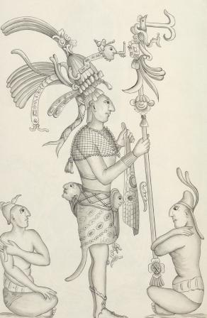 התגלה לוח אבן עתיק של בני המאיה המספר על מאבקי שליטה בצמרת ההנהגה