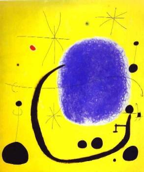 מירו חואן: שמש ירח וכוכבים