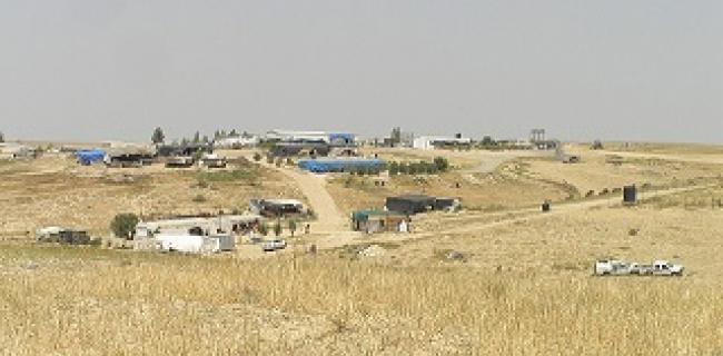 מראה כללי של אל-עראקיב באפריל 2010, כמה חודשים לפני הריסתו