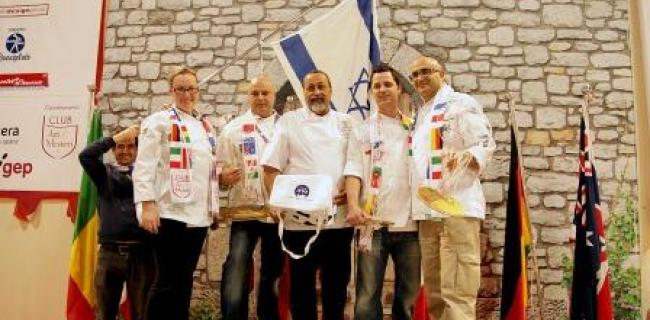 נבחרת ישראל באפייה זכתה במקום השני בתחרות אלוף האלופים