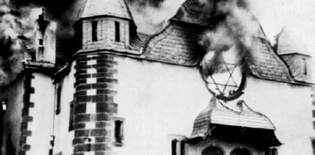 בית כנסת בוער 1938