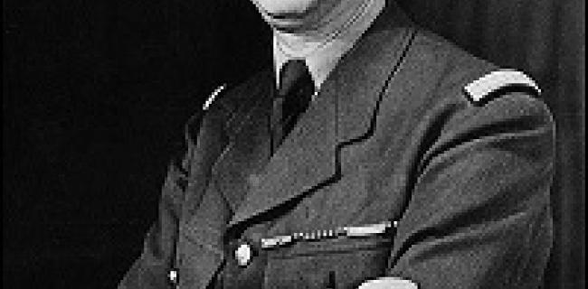 בריגדיר גנרל שארל דה גול בסביבות שנת 1942