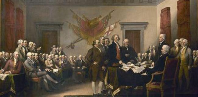 הצהרת העצמאות האמריקאית - המהפכה האמריקנית : הייתה או לא הייתה?