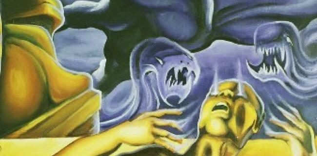 מכת בכורות- ציור שלומי ישראל