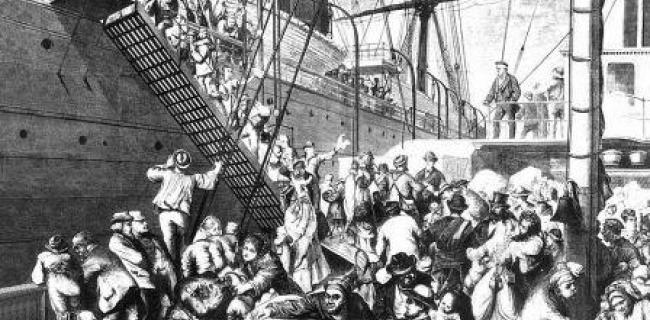 ההגירה הגרמנית לאמריקה - 1874