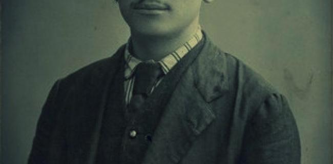 גרשון שוֹפְמן (נכתב לעתים גרשֹם שופמן, 28 בפברואר 1880 – 12 ביוני 1972), התמונה מ 1909