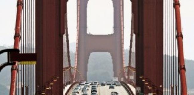 גשר שער הזהב - סן פרניסיסקו קליפורניה