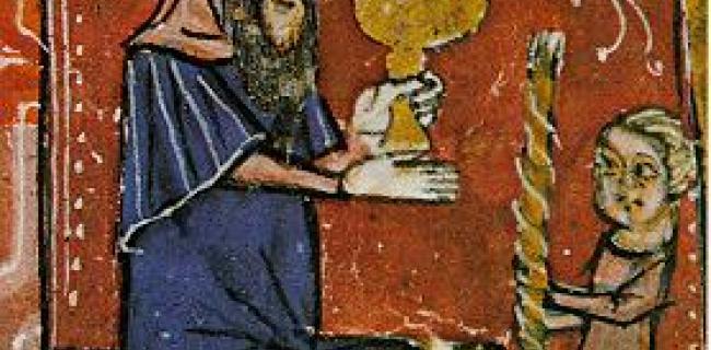 טקס הבדלה, המאה ה-14, ספרד