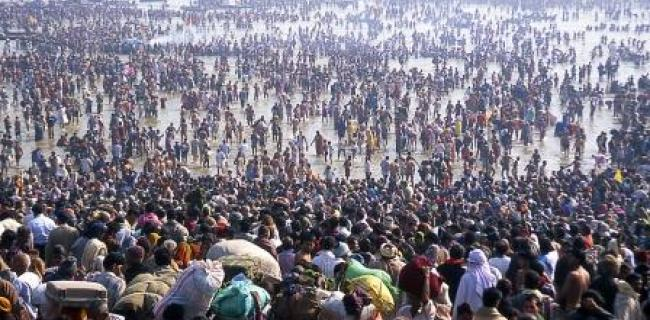 הקומבמלה - הכינוס האנושי הגדול ביותר בעולם בנהרות הקדושים בהודו