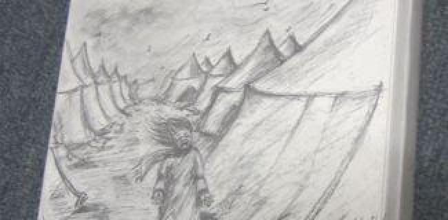 בכיו הצורב של יחזקאל קדמי