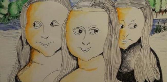 מונה ליזה - מלאך ההיסטוריה חוזר אל ציוריו של יהודה בן נחום