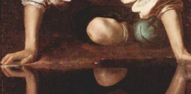 נרקיסוס, מאת קאראווג'יו