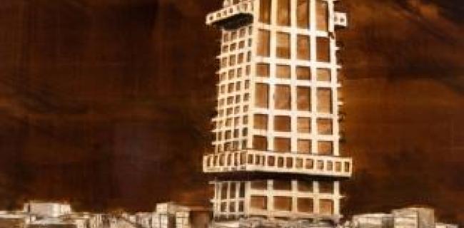 תערוכה של יצחק דה לנגה: הנפילים  - Mont Fort