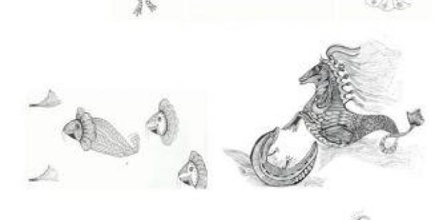 איורים: מונולוג חמישי: מכתב לגיבור ספרי, ביבר הדמיונות