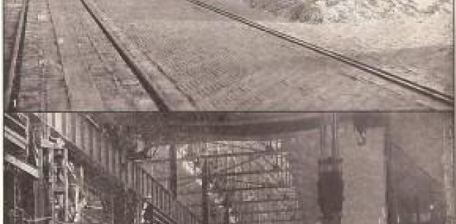 מפעל ברזל בפיטסבורג 1915
