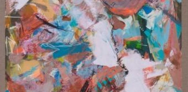 מיכל רוטמן לאור, מתוך התערוכה, שמן על בד, גודל 100X70 באדיבות: סדן הפקות אמנות
