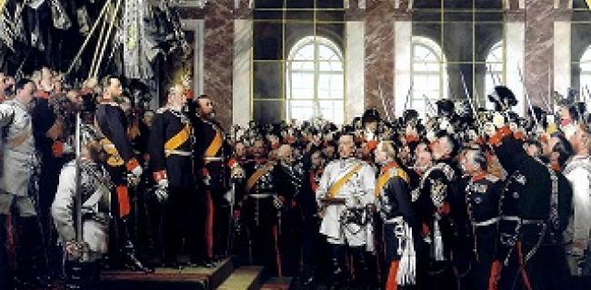 יסוד גרמניה המודרנית, ורסאי, 1871