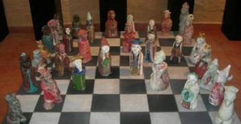 תערוכת קסם השחמט- משחק הממליכים