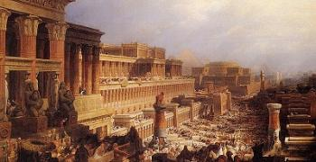 בני ישראל יוצאים ממצרים. ציור מאת דייוויד רוברטס משנת 1828.