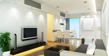 שדרוג עיצוב הבית באמצעות התאורה בסלון