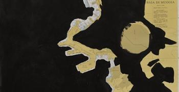 מפה מס' 43, 2014, צילום: דימה ולרשטיין