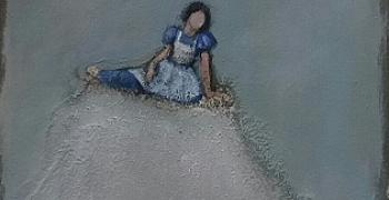 רות אורנבך / ללא כותרת, שמן על נייר, 2016, 11X11