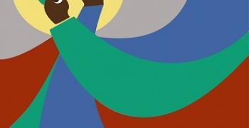 זריחה / יהודה לימור, מתוך התערוכה. צילום: יהודה לימור. באדיבות: הילה קומם
