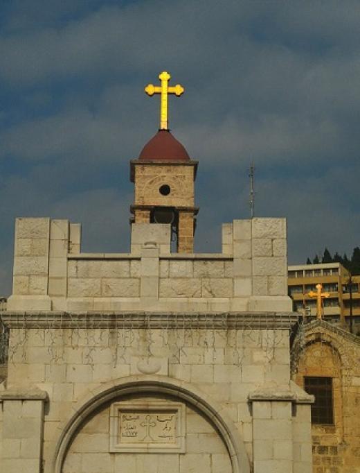 הכנסייה היוונית אורתודוכסית, נצרת. צילום: מירב גולן