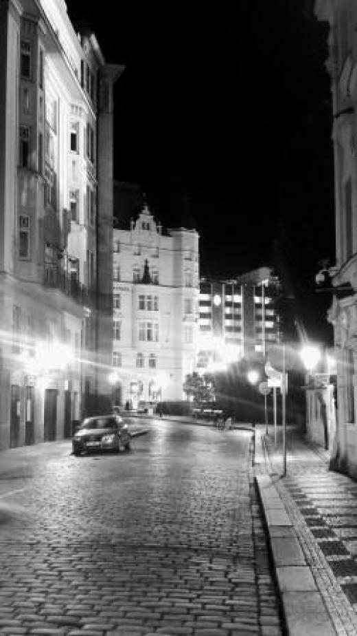 פראג בלילה