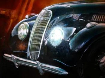 ענתיקה - תערוכת ציורי רכבים עתיקים