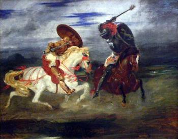 אבירים - דלקרואה
