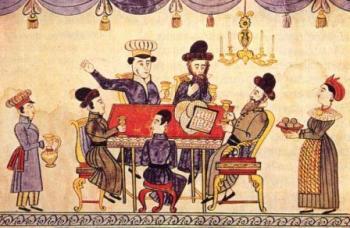 פסח במאה ה-19 , מזרח אירופה