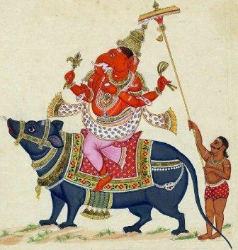 גנש- אל הפיל במיתולוגיה ההודית