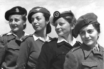"""קצינות בצה""""ל 1950"""