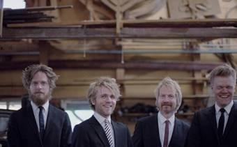 תמונת הרביעייה הדנית. צילום: קרולין ביטנקורט (באדיבות: הילה קומם)