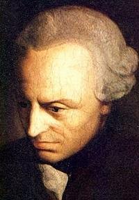 עמנואל קאנט (22 באפריל 1724 - 12 בפברואר 1804)