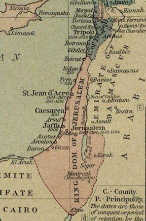 ישראל ימי הביניים - שפרד