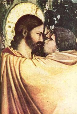 יהודה איש קריות נושק לישו