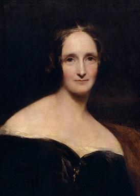 """מרי שלי, כותבת הסיפור """"פרנקנשטיין"""", ממייסדות ז'אנר הפנטזיה והאימה הגותי."""