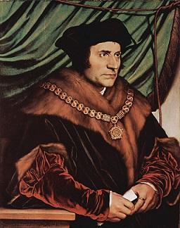 """תומס מור (1477 - 1535), סופר ומדינאי אנגלי, מחבר הספר """"אוטופיה"""""""