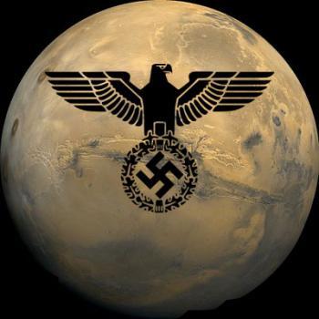 גרמניה הנאצית כבשה את החלל - צלב קרס על מאדים