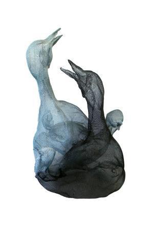 חיים ברשת / חנה הירשמן-כהן - תערוכת פסלים