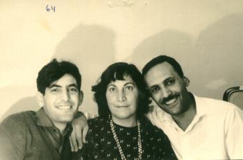 סעידה ויקטור ומשה 1964