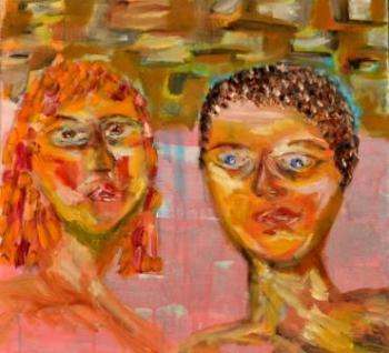 צביה פז וליאור פז- זבידה: ציורים דואט לאם ובת- סלבריטאים