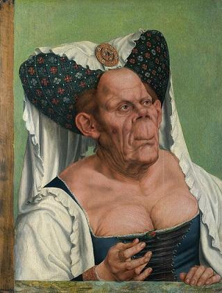הדוכסית המכוערת, מרגרט מאולטש, מאת קוינטין מאסיס (1513)
