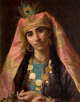 שחראזדה, ציור מהמאה ה-19